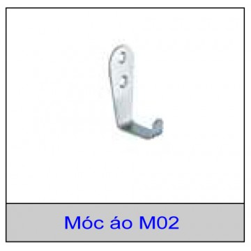 Móc áo M02